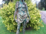 Druantia. Celtic Forest Goddess and Maiden of the Garden