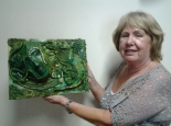Kathleen is so proud of her Canvas Art.
